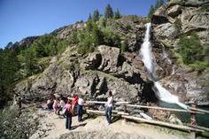 Lillaz Waterfalls in Cogne - Aosta Valley