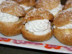Passover cream puffs