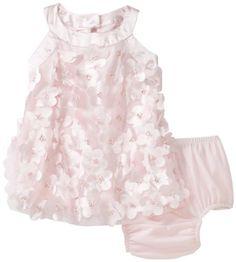 Kate Mack Baby-Girls Newborn Ode To Love Baby Dress, Pink, 6 Months $96.00