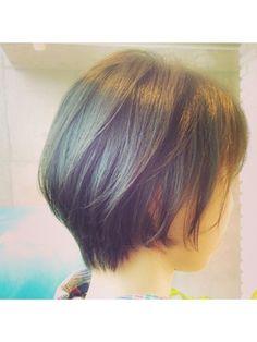 ジーナハーバー(JEANA HARBOR) [JEANA HARBOR]黒髪カットだけでつくる前下がりボブ☆竹澤 幸佑