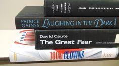 """""""The Night Circus"""" - The night circus / Laughing in the dark / The great fear / 1000 clowns #butlerbookspine"""