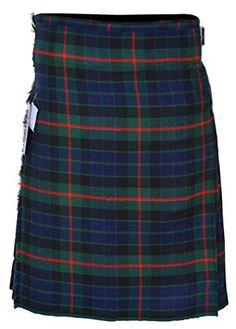 Find the best prices on Men's 5 Yard Scottish Tartan Kilt, Highland Wedding Kilt Inch Waist, Gunn) and save money. Scottish Clothing, Scottish Kilts, Scottish Tartans, Great Kilt, Tartan Kilt, St Andrews, Hot Mess, Outlander, Fashion Brands