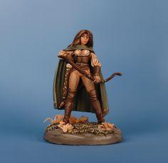 Liriel, Female Archer, Dark Sword Miniatures