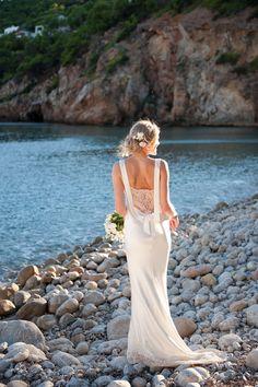 WeddingDress by David Fielden. Gorgeous on this bride!