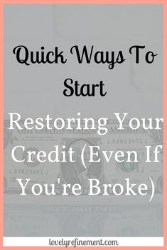 Financial Information, Financial Tips, Financial Literacy, Financial Organization, Fix Bad Credit, Fix Your Credit, Check Credit Score, Improve Your Credit Score, Budgeting Finances