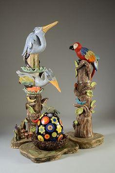 Peggy Bishop Pottery - It takes a Village