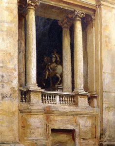 The Athenaeum - A Window in the Vatican (John Singer Sargent - )