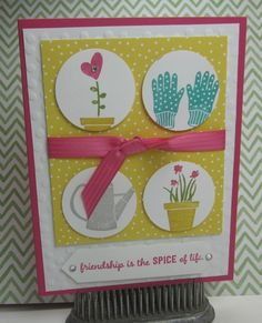 Stampin' Up!, Gift from the Garden, DIY Crafts, Sunday Swap Day every Sunday on my blog!