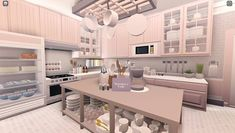 Two Story House Design, Tiny House Layout, Unique House Design, House Layouts, House Plans Mansion, Bedroom House Plans, Home Building Design, Building A House, Kitchen Interior