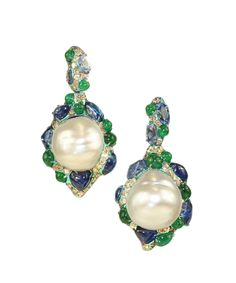 Arunashi pearl earrings #Precious_Posts @PreciousPosts