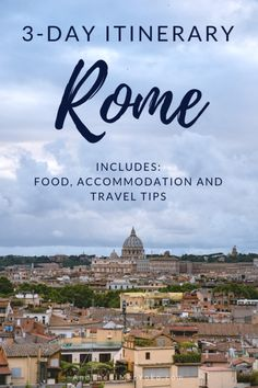 """A itinerary and photographic travel guide to Rome Italy. Includes accommodation and restaurant recommendations along with helpful travel tips. Travel photography and guide by Natasha Lequepeys for """"And Then I Met Yoko"""". Italy Travel Tips, Europe Travel Guide, Travel Guides, Rome Travel, Budget Travel, Usa Travel, Travel Hacks, Travel Essentials, Rome To Pompeii"""