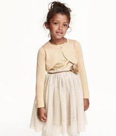 H&M Glitter-knit Bolero Jacket $12.99