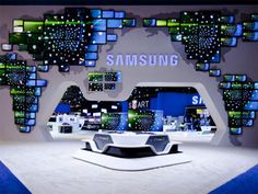 Samsung exhibits at CES are always show stoppers. This from 2010.