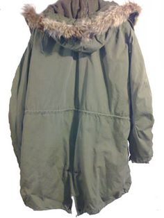 M51 fishtail parka (a basic must-have for 60's mods)