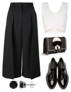 """""""Untitled #4"""" by dashun-gorun on Polyvore featuring BCBGMAXAZRIA, Erdem, Burberry, Fendi, BERRICLE, women's clothing, women, female, woman and misses"""