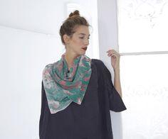 silk scarves by Ilana Kohn