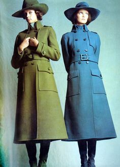 Mouche and Sue Baloo by Bugat Vogue Italia 1971