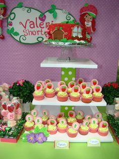 Strawberry Shortcake Party #strawberryshortcake