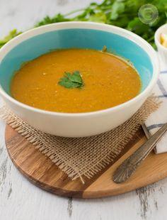 Slow Cooker Red Lentil Soup (Daal)