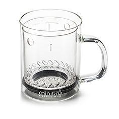 minibru Coffee Press Mug | ThinkGeek