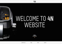 4N - Immersive Website, based ona srolling navigation to discover features and fonctionnality of the 4N watches. Veray contemopary and sophisticated design in line with tne brand 4N.
