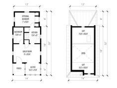 dog trot house plans Une mini maison au chili 06 Une mini maison