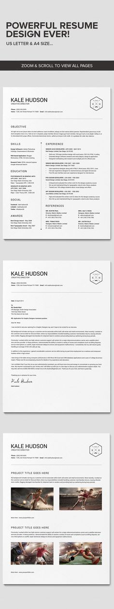 Teacher Resume Template - Resume for Teacher - Cover Letter for - resume templates word for mac
