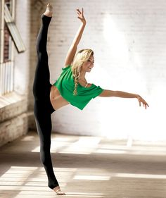 #dancer in a natural light studio