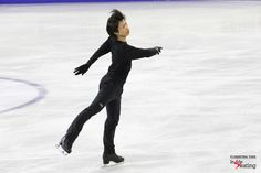 Tatsuki Machida, practicing his short program, to Fantasia for violin and orchestra  Inside Skatingより