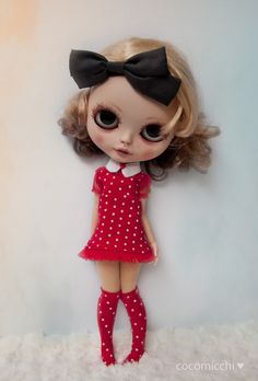 https://flic.kr/p/BCdM7s   Selina in red   polka dot red set for Raul