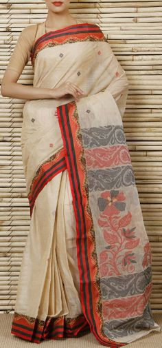 Bengal Handloom Tant Cotton Saree