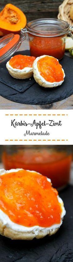 Kürbis-Apfel-Zimt Marmelade