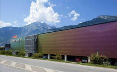 Find out all of the information about the ALUCOBOND product: panel cladding COOP SHOPPING CENTRE. Composite Cladding, Industrial Storage, Shopping World, Facade Design, Shopping Center, Corporate Design, How To Find Out, Art Gallery, Colours