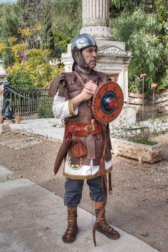 Late Roman bowman from Legio VII Gemina Felix Cohors V Baetica.