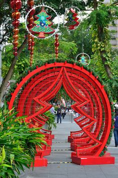 Christmas in Singapore by kewl, via Flickr
