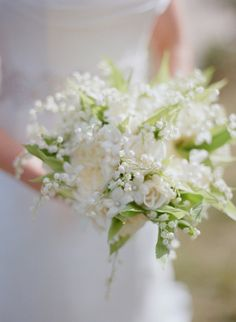 Lily of the valley: http://www.stylemepretty.com/2016/01/28/symbolic-wedding-flower-meaning/
