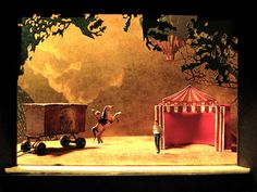Pagliacci set design- got to love Opera and over the top sets!