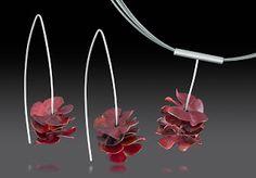 Vicki Cook stacked earrings