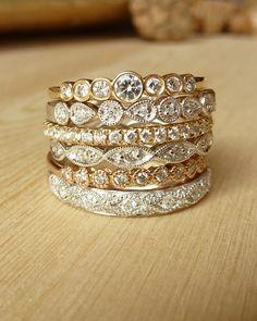 Kate Szabone Jewellery Inc. - Petite Bezel Set Diamond Band, $645.00 (http://www.kateszabone.com/petite-bezel-set-diamond-band/)