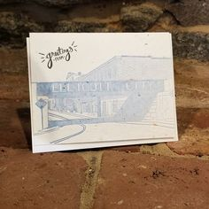 These cards just came in today and I am super excited to share them with you! The artwork was custom drawn just for us from pictures of our beloved Old Ellicott City. These Greetings from Ellicott City cards are also PLANTABLE just like all of our other