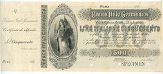 500 LIRE - #scripomarket #scripobanknotes #scripofilia #scripophily #finanza #finance #collezionismo #collectibles #arte #art #scripoart #scripoarte #borsa #stock #azioni #bonds #obbligazioni