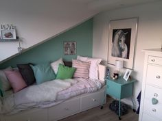1000 images about meidenkamer on pinterest tes white colors and teen rooms - Kleur idee voor kamer ...