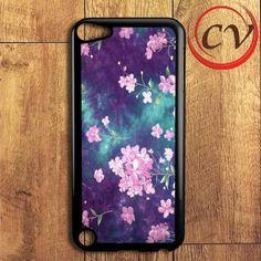 Pink Flower iPod 5 Case
