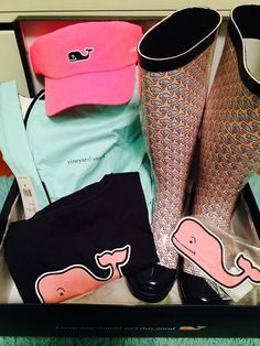Vineyard Vines (want those rainboots!)