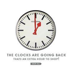 littlewoods-clocks going back email. Newsletter Ideas, Email Newsletter Design, Email Newsletters, Email Design, Anim Gif, Moving Gif, Clocks Go Back, Email Programs, Cinemagraph