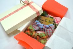 baby bow ties - cute gift idea for a new baby boy