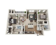 Avana on the Platte offers spacious apartments for rent in Sheridan all with thoughtful amenities fit for the modern-day resident. Check out our one and two bedroom floor plans and see which one fits your needs.