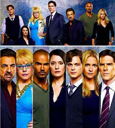 David Rossi, Penelope Garcia, Derek Morgan, Emily Prentiss, Spencer Reid, Jennifer Jareau, and  Aaron Hotchner