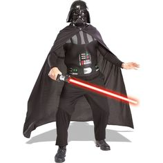 [Mens Halloween Costumes] Rubie's Costume Star Wars Darth Vader Adult Kit, Black, One Size ** Learn more by visiting the image link. (This is an affiliate link) Disfraz Darth Vader, Darth Vader Kostüm, Darth Vader Halloween Costume, Costume Star Wars, Disfraz Star Wars, Star Wars Dress, Adult Halloween, Cool Halloween Costumes, Halloween Party