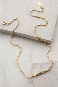 Anthropologie Adelais Pendant Necklace